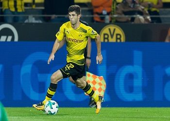 Pulisic with the ball