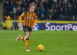 Jarrod Bowen with the ball