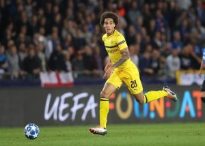 Witsel with the ball