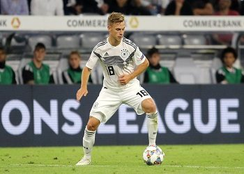 Kimmich with the ball